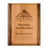 Alder Wood Plaque with Walnut Trim All Award Plaques