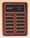 Rosewood Piano Finish Perpetual Plaque All Award Plaques