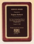 Rosewood Award Plaque Gold Florentine Texture All Award Plaques