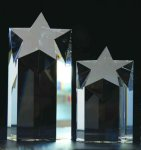 Rising Star Crystal Award All Crystal Awards