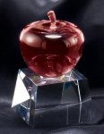 Red Crystal Apple Award All Crystal Awards