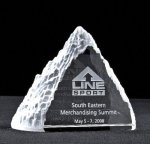 Frosted Peak Crystal Award All Crystal Awards
