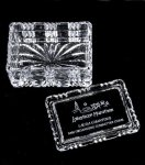 Rectangular Crystal Trinket Box All Executive Gifts