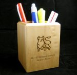 Maple Pen Holder Gift All Executive Gifts