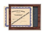 Certificate/Photo Frame - Cherry Finish Slide-In Mount All Executive Gifts