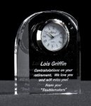 Crystal Dome Clock All Executive Gifts