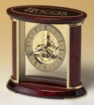 Elliptical Desk Clock Award All Executive Gifts