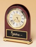 Rosewood Dome Clock Gift All Executive Gifts