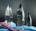Magnum Opus Crystal Award Colorful Awards