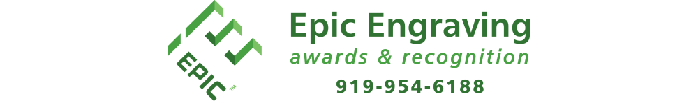 EPIC ENGRAVING • AWARDS AND RECOGNITION - crystal awards, corporate awards, award plaques, corporate plaques, recognition plaques, glass awards, executive gifts, clocks, globe awards, star awards, flame awards, employee awards